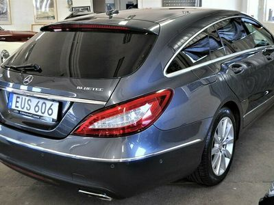 begagnad Mercedes CLS250 Shooting Brake 4MATIC Euro 6 204hk