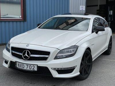 begagnad Mercedes CLS63 AMG AMG 4-MATIC 557HK SVENSKSÅLD