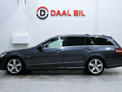begagnad Mercedes E250 ECDI 204HK 4MATIC AMG DRAG P-SENSORER NYBESIKTAD
