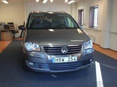 begagnad VW Touran 1.4 TSI Vinter 7-sits 140hk