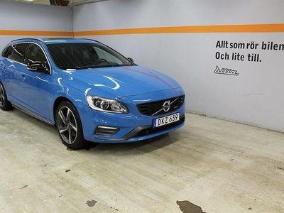 begagnad Volvo V60 D6 AWD Plug In R-Design /Drag/VOC/Kamera/