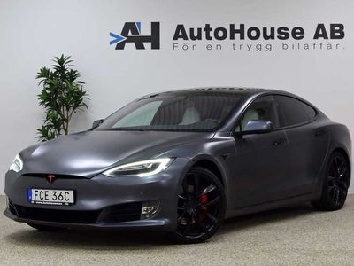 begagnad Tesla Model S P100DL -19