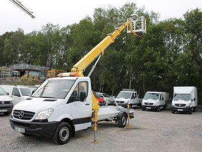begagnad Mercedes Sprinter 311 CDI Skylift 17.5 m -08