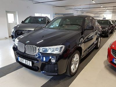 begagnad BMW X4 xDrive30d 258hk Aut M-Sport Drag Eu6