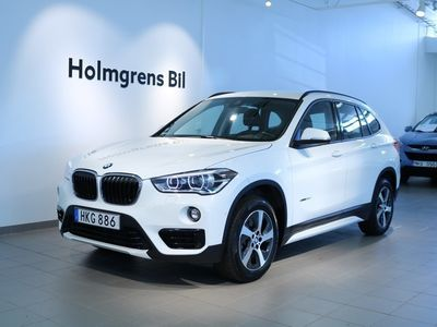begagnad BMW X1 sDrive20d 190hk Sport Line, Drag, Led