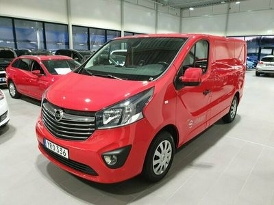 begagnad Opel Vivaro Van 1.6 CDTI BIturbo 125hk manuell NAV