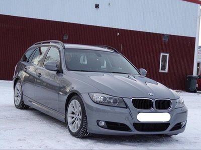 begagnad BMW 320 D 6vxl manuell Dragkrok