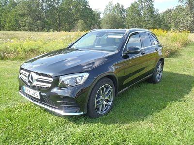 begagnad Mercedes GLC220 GLC-Klass4MATIC 9G-Tronic AMG Sport Euro 6 170hk