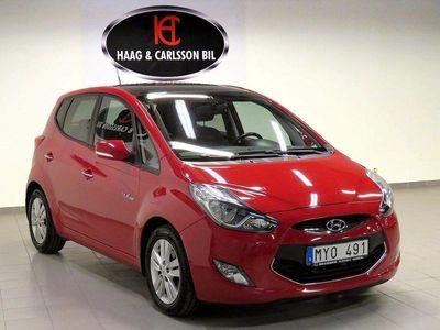 begagnad Hyundai ix20 Panoramatak Premium 116hk