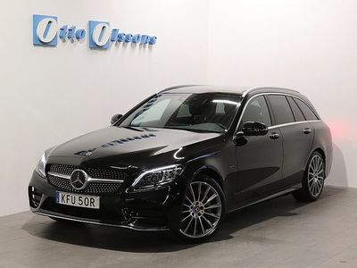 begagnad Mercedes C300 DE Plug-In AMG Kombi PremiumPlus, Drag, Panorama