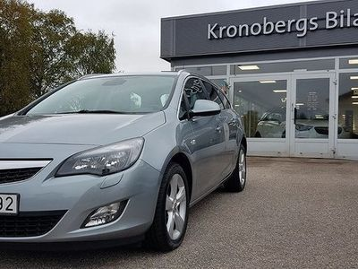 begagnad Opel Astra Sports Tourer 1.4 Turbo 140hk -11