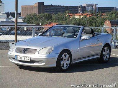 begagnad Mercedes SLK230 Kompressor CAB Automat 197hk
