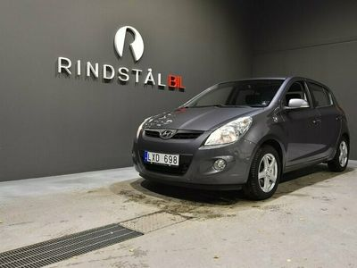 begagnad Hyundai i20 5D 1.4 CRDi M&K-VÄRM AC S&V-DÄCK 2011