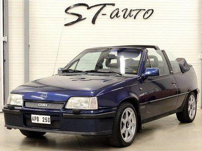 brugt Opel Kadett GSI Cab Samlarbil Svensk 6500mil