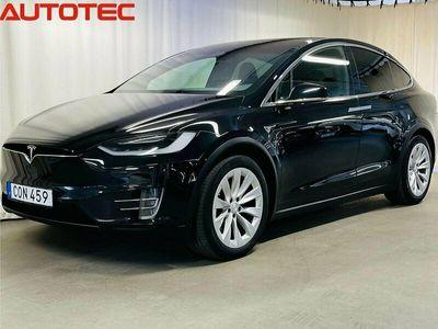 begagnad Tesla Model X 100D Premium Drag