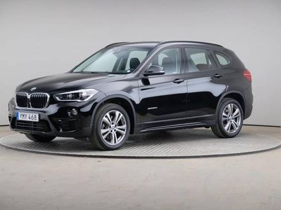 begagnad BMW X1 Xdrive20d Model Sport Aut Navi