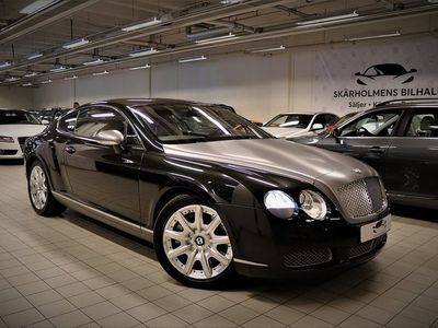 begagnad Bentley Continental GT 6.0 W12 560HK 4800MIL SV-SÅLD