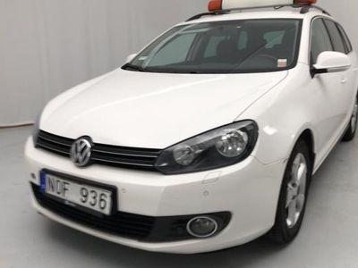 begagnad VW Golf VI Variant VW1.6 MultiFuel E85 2011, Kombi 54 000 kr