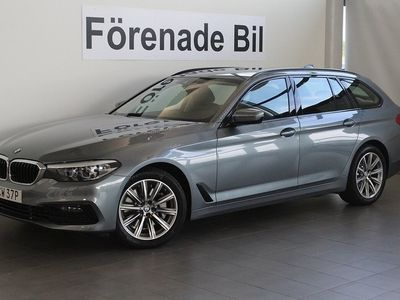 begagnad BMW 530 i xDrive Touring I Sport Line Aut Navi Dragkrok