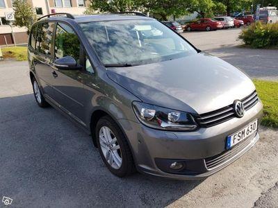gebraucht VW Touran 15 utmärkt skick -15