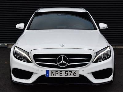 """begagnad Mercedes C220 d AMG 20"""" Burmester Navi Dieselv"""