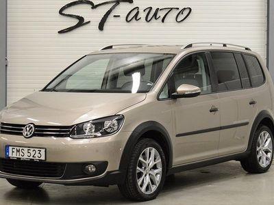 gebraucht VW Touran Cross Nav Drag 7-sits JULCHECK 2015, SUV 188 900 kr
