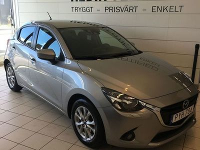 begagnad Mazda 2 1.5 90 HK SKYACTIV