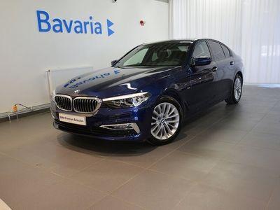 begagnad BMW 520 d xDrive Sedan Luxury Line Connected Hifi Drag