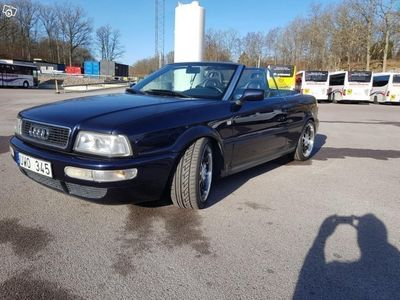 begagnad Audi 80 CAB V6 2.8 -Jätte -98
