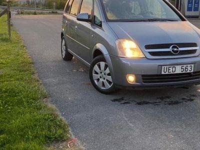 begagnad Opel Meriva 1.6 ny besiktad