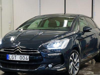 begagnad Citroën DS5 2,0 HDI AUT / VÄLUTRUSTAD / SVENS -13