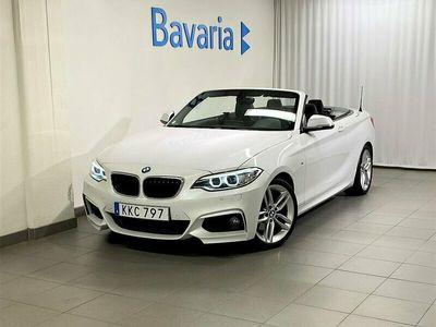 begagnad BMW 220 d Cabrio M-Sport Navigation HiFi