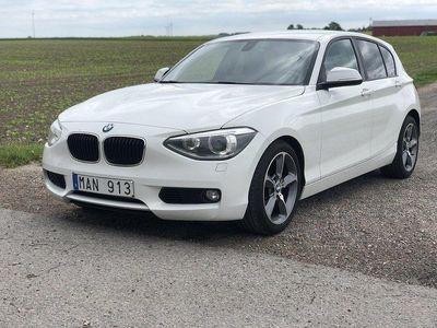begagnad BMW 120 d 5-door 184hk / M - SPORT / SKINN