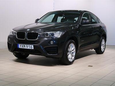 begagnad BMW X4 xDrive20d Model Sport,Navigation,Automat,Drag