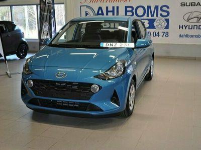 begagnad Hyundai i10 1.0 MT5 Essential 2021, Halvkombi Pris 131 400 kr