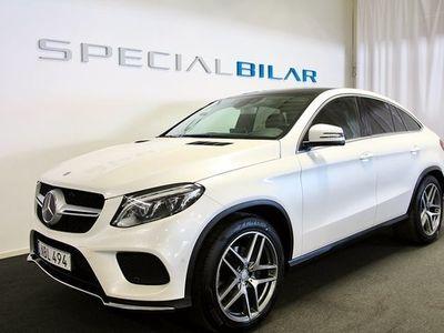 begagnad Mercedes 350 GLE Benzd 4MATIC Coupé AMG Nav Värmare Panorama 2016, SUV 459 000 kr