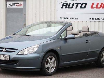 begagnad Peugeot 307 CC 2.0 136hk Skinn Nyservad NYBES