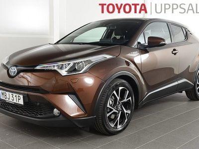 begagnad Toyota C-HR 1,8 Elhybrid X Edition Skinn JBL
