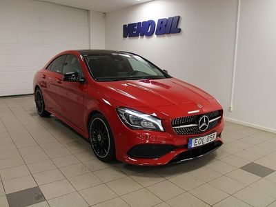 begagnad Mercedes CLA200 Coupe AMG Aut Panorama