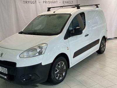 begagnad Peugeot Partner 1,6 HDI 90HK AUTOMAT S+V-HJUL