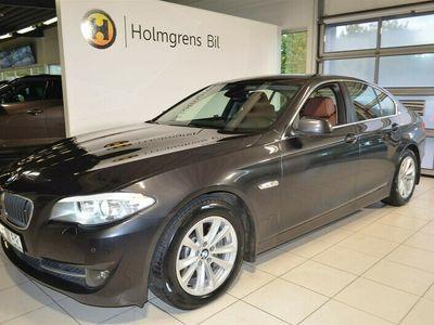 begagnad BMW 530 d Sedan Läder Drag Hud Adaptiv Farthållare Night Vision
