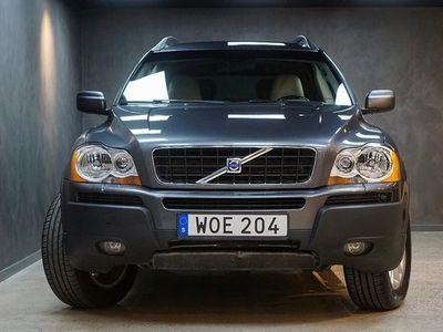 begagnad Volvo XC90 2.5T AWD Aut Summum 7-sits Ny kamrem Nya V-hjul