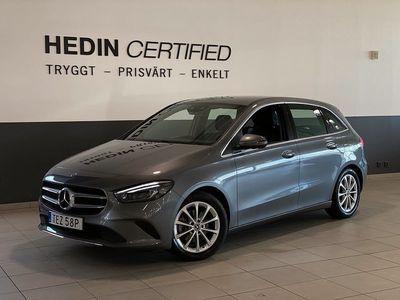 begagnad Mercedes B200 B Benz BVinterhjul Nav 7G-DCT 2019, Halvkombi 264 900 kr