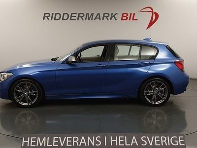 begagnad BMW M135 i xDrive Navi Skinn H/K Nyservad 320