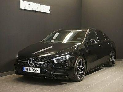 begagnad Mercedes A200 4M Sedan 4MATIC AMG Värmare Backkamera Panorama Navi