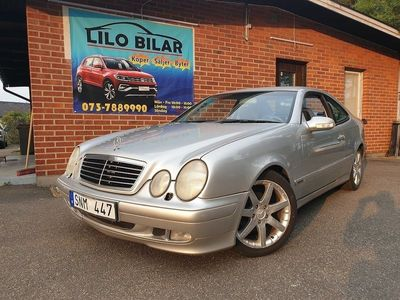 begagnad Mercedes CLK230 Kompressor Coupé 197hk -01