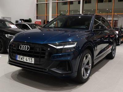begagnad Audi Q8 50 TDI Q S-line Fyrhjulsstyr Panorama