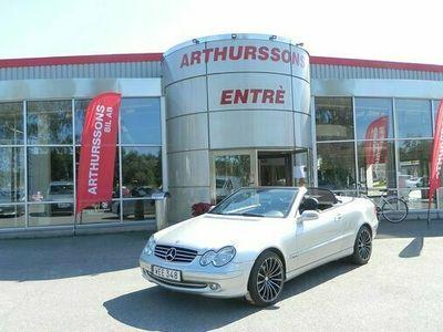 begagnad Mercedes 200 CLK BenzKompressor Cabriolet Automat Avantgarde 2005, Cab Pris 129 800 kr