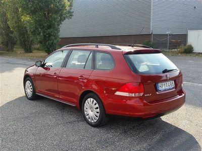 begagnad VW Golf 1.6 Variant 9900Mil Nybesikt