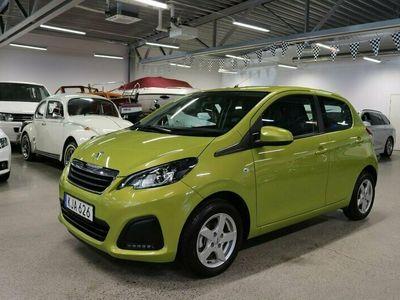begagnad Peugeot 108 1.0 VTi 5-dr 72hk 197mil